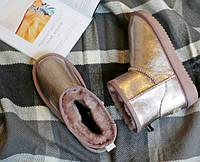 Женские зимние ботинки угги (с мехом)