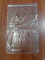 Пакет упаковочный п/э 30мкр с зип локом 23*32 (уп 100шт)