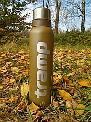 Термос Tramp 1,6л. оливковий TRC-029-olive. Термосы термокружки.Термос трамп