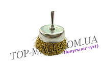 Щетка торцевая Housetools - 100 мм, рифленая