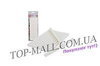 Клеевые стержни Intertool - 11,2 х 200 мм, белые