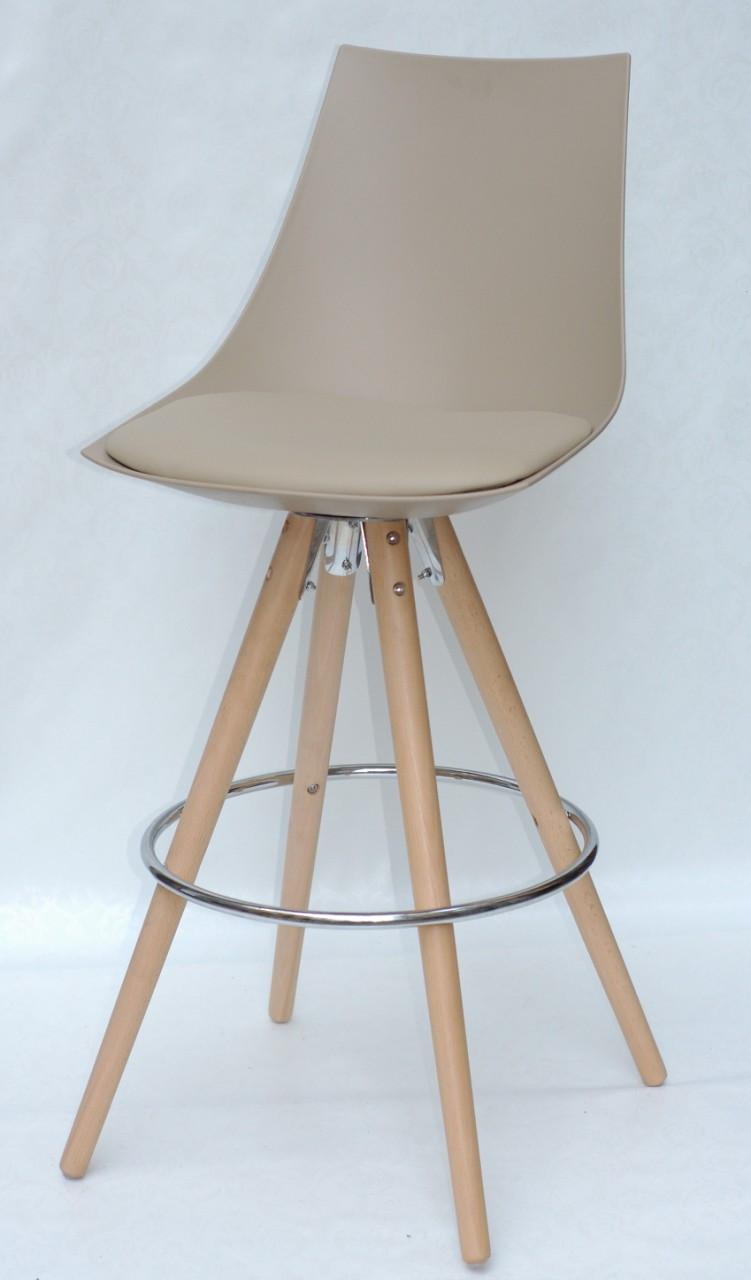 Барный стул Klim, бежевый