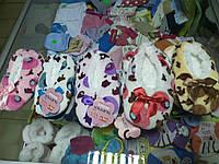 Меховые тапки чешки носки р.12 - 19