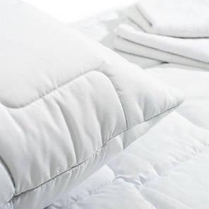 Подушка 50х70 Lux, стеганый чехол на молнии + внутренняя подушка, фото 2