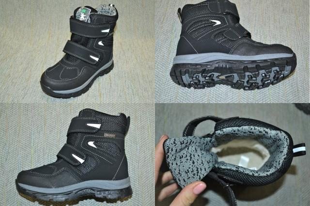 Водостойкие зимние ботинки на мальчика, Krokky фото