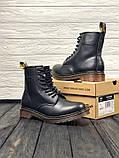 Ботинки кожаные женские Dr Martens. ХИТ ПРОДАЖ., фото 2
