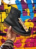 Ботинки кожаные женские Dr Martens. ХИТ ПРОДАЖ., фото 3