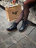 Ботинки кожаные женские Dr Martens. ХИТ ПРОДАЖ., фото 6