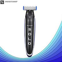 Триммер для бороды MicroTouch Solo - электробритва мужская универсальная для стрижки бороды, фото 3