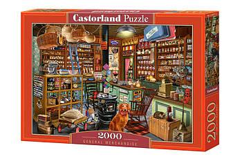 """Пазлы Castorland 2000 - """"Лавка мелочей"""". Быстрая доставка. Производство Польша. Гарантия качества."""