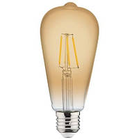 "Лампа  ""RUSTIC VINTAGE-4"" 4W Filament led 2200К  E27"