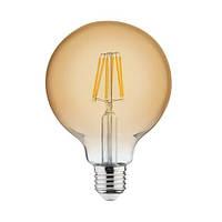 """Лампа  """"RUSTIC GLOBE-6"""" 6W Filament led 2200К  E27"""