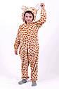 Кигуруми пижама Жираф, детский и подростковый рост 98-164, фото 3
