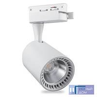 Светодиодный светильник трековый Feron AL102 COB 12W 2700K белый