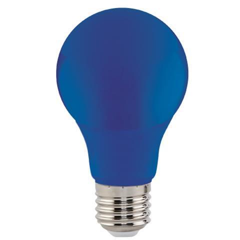 """Лампа Светодиодная """"SPECTRA""""3W E27 A60 (синяя)"""