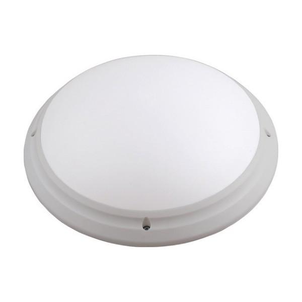 Светильник пластиковый серый Акуа Опал Круг