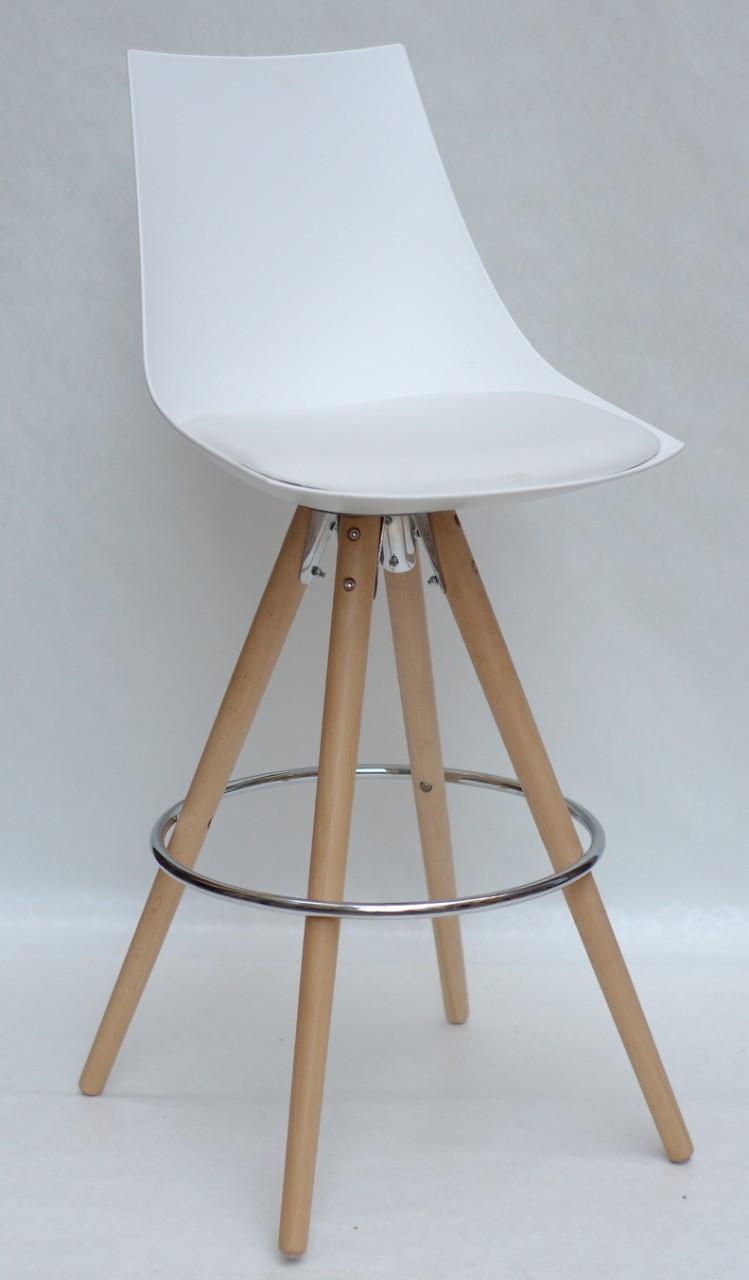 Барный стул Klim, белый