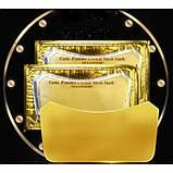 Патчи для шеи Collagen Gold Powder Crystal Neck Mask, с золотом и коллагеном, 1 шт, фото 2