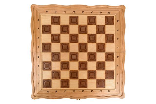 Доска шахматная деревянная Lux