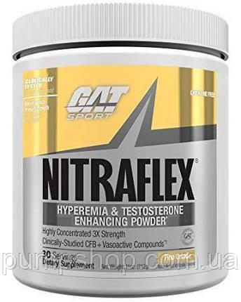 Предтренировочный комплекс  GAT SPORT NITRAFLEX 30 порц., фото 2