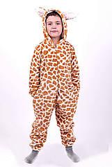 Кигуруми пижама Жираф, детский и подростковый рост 98-164