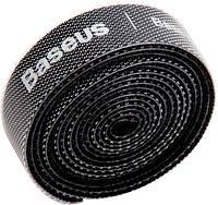 Органайзер проводов Baseus Colourful Circle Velcro strap 3m, Black (ACMGT-F01), фото 1