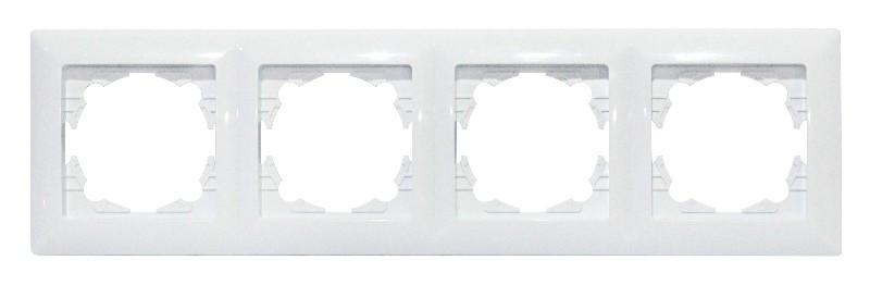 Рамка 4-а біла TINA