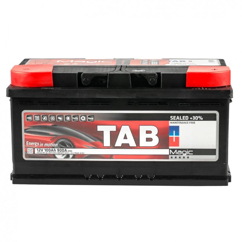 Аккумулятор TAB MAGIC 100 AH/12V EURO (0) НИЗКИЙ