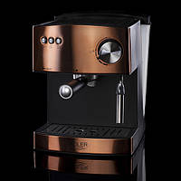 Кофеварка компрессионная adler AD 4404 cooper 15 Bar, фото 1