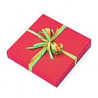 Подарок корпоративный Шоколадные конфеты ручной роботы *Красная коробка на 9шт.*