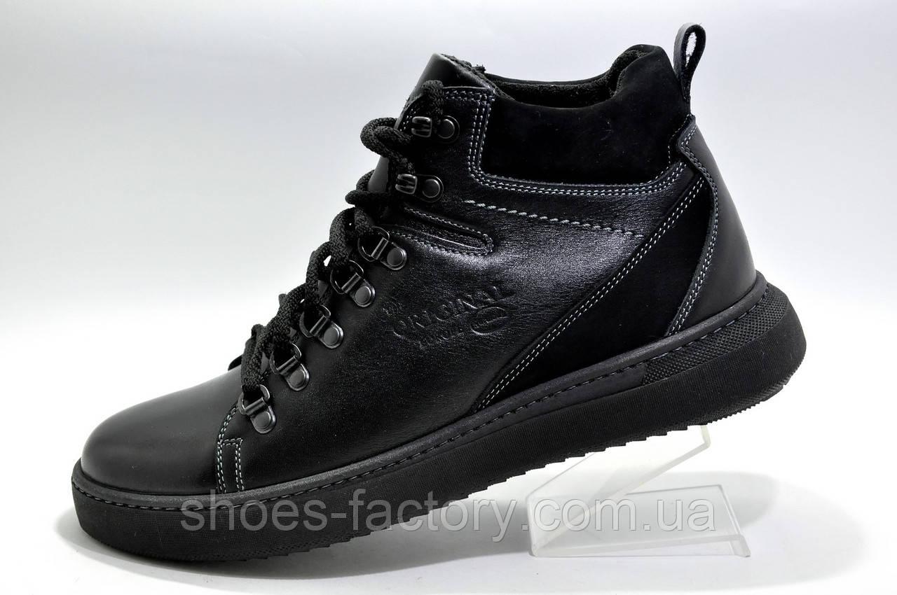 Зимние кожаные ботинки Kardinal Winter 2020, All Black