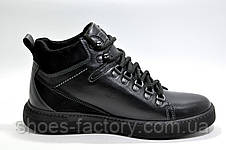 Зимние кожаные ботинки Kardinal Winter 2020, All Black, фото 2