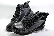 Зимние кожаные ботинки Kardinal Winter 2020, All Black, фото 3