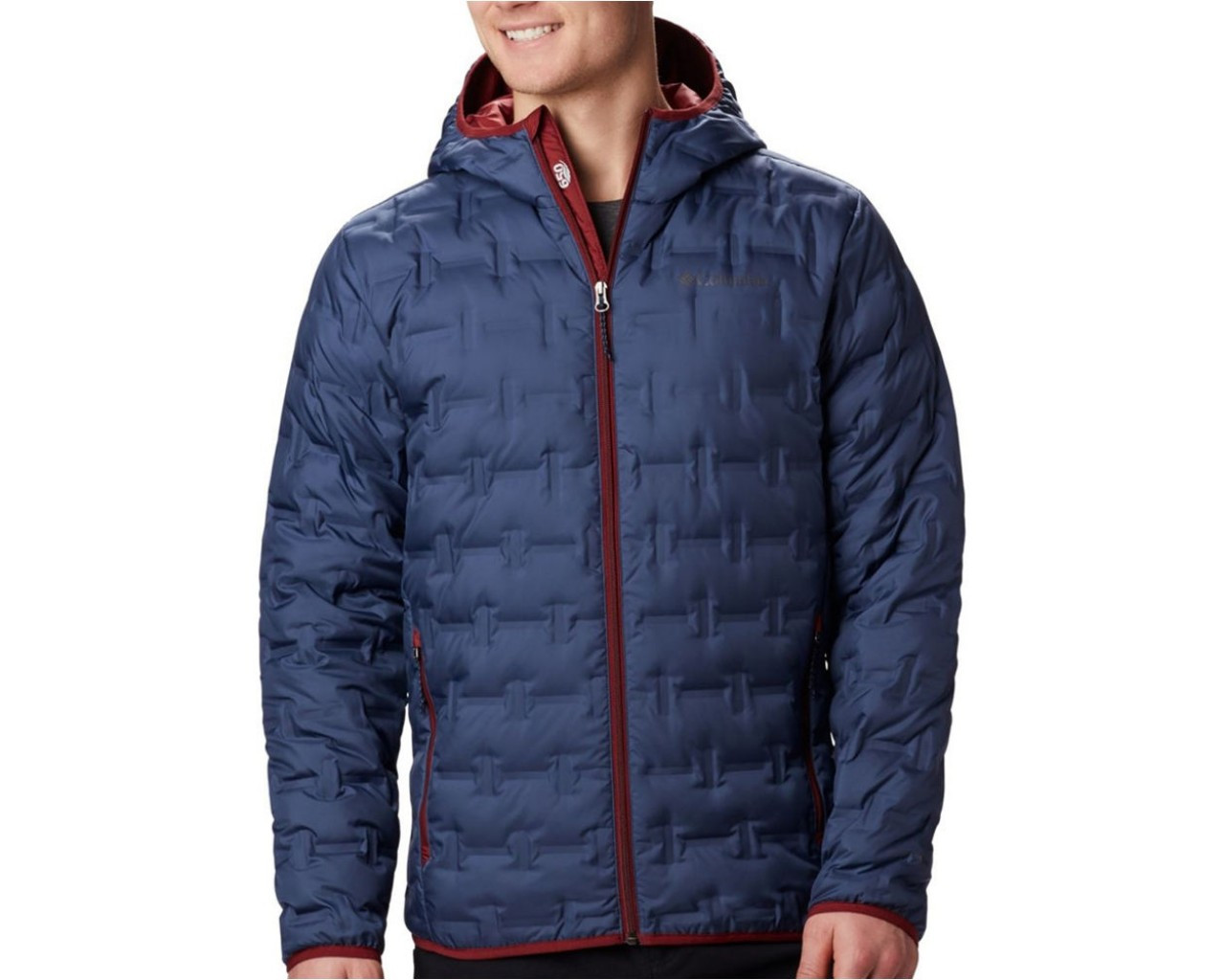 Куртка пуховая мужская Columbia DELTA RIDGE