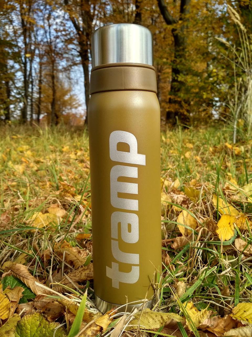 Термос Tramp 0.9л. оливковий TRC-027-olive. Термосы термокружки. Термос трамп