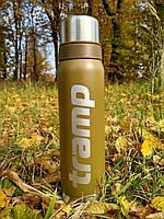 Термос Tramp 0.9л. оливковий TRC-027-olive. Термос трамп