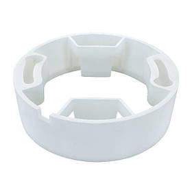 Крепление для светильника SL UNI круг. бел. пластик Код.59678