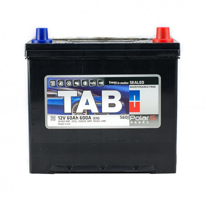 Аккумулятор TAB POLAR S 60 AH/12V EURO (0) JAPAN