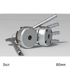 Механизм секретности замков моделей 2Р, 3Р, длина стержня ключа 80 мм