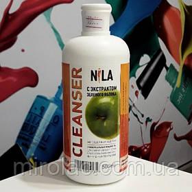 Nila Cleanser для снятия липкого слоя, зеленое яблоко, 500 мл