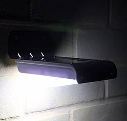 Фасадный светильник уличный на солнечной батарее 16 Led 10 шт