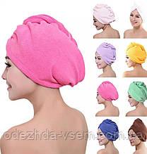 Шапочка-полотенце для сушки волос