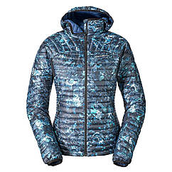 Куртка Eddie Bauer Womens MicroTherm StormDown Hooded Jacket SAPHIRE XS Синий 0927SP-XS, КОД: 259862