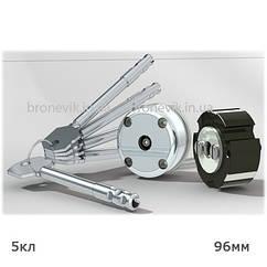 Механизм секретности замков моделей 4Р, 4КР, длина стержня ключа 96 мм