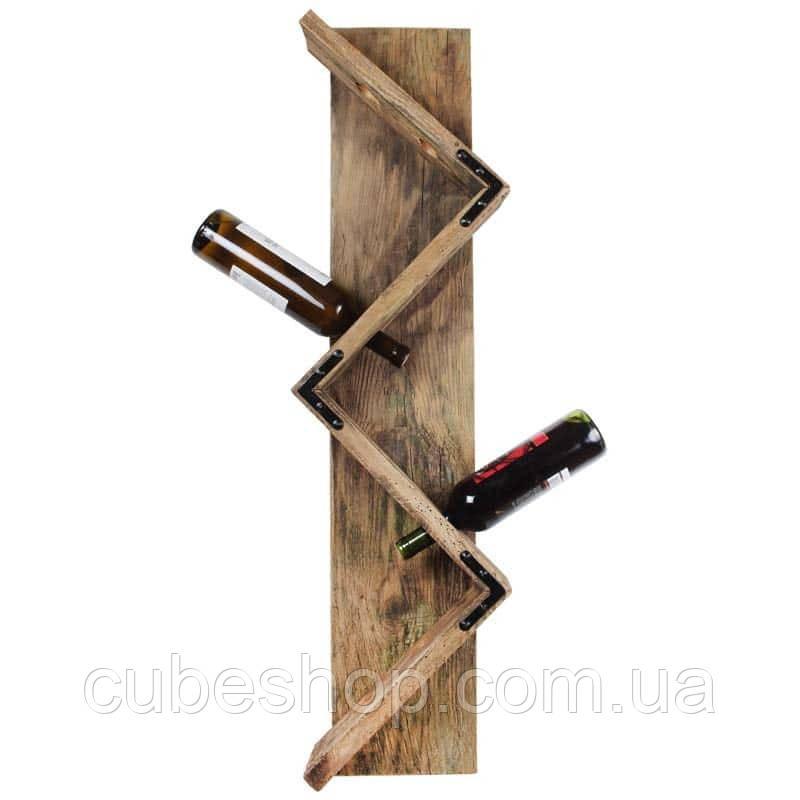"""Деревянная подставка для вина """"Техас"""""""