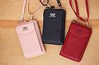 Сумка клатч с карманом для телефона + часы в подарок, фото 3