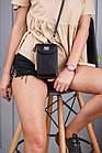 Сумка клатч с карманом для телефона + часы в подарок, фото 4