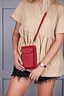 Сумка клатч с карманом для телефона + часы в подарок, фото 7