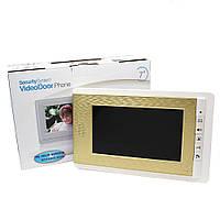 Домофон WJ708TC8 Сенсорный Экран.Видеодомофон.