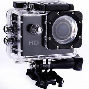 Экшн-камера с креплениями в аквабоксе Action Camera D 6000 130783